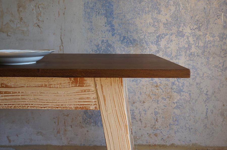 Solenn Design Tisch Knorke 01 FB213 Zarge